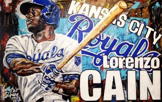 Lorenzo Cain by AO 2015