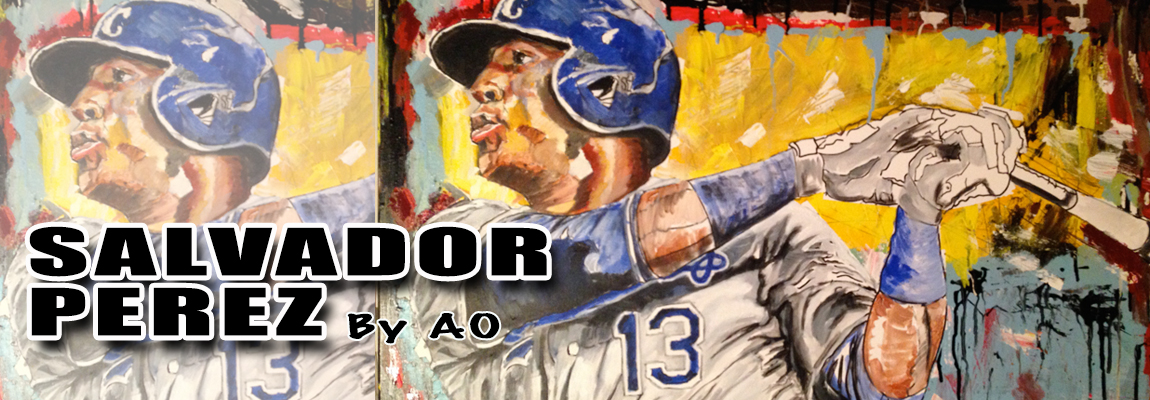 Salvador Perez Painting by AO