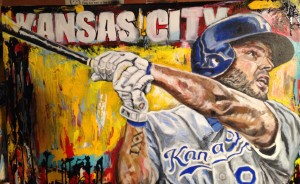 imGE: wip - Mike Moustakas - KC Royals BY ao