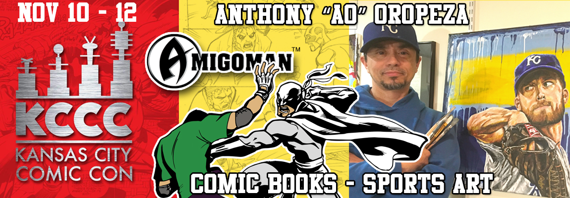 Anthony AO Oropeza's - Kansas City Comic Con