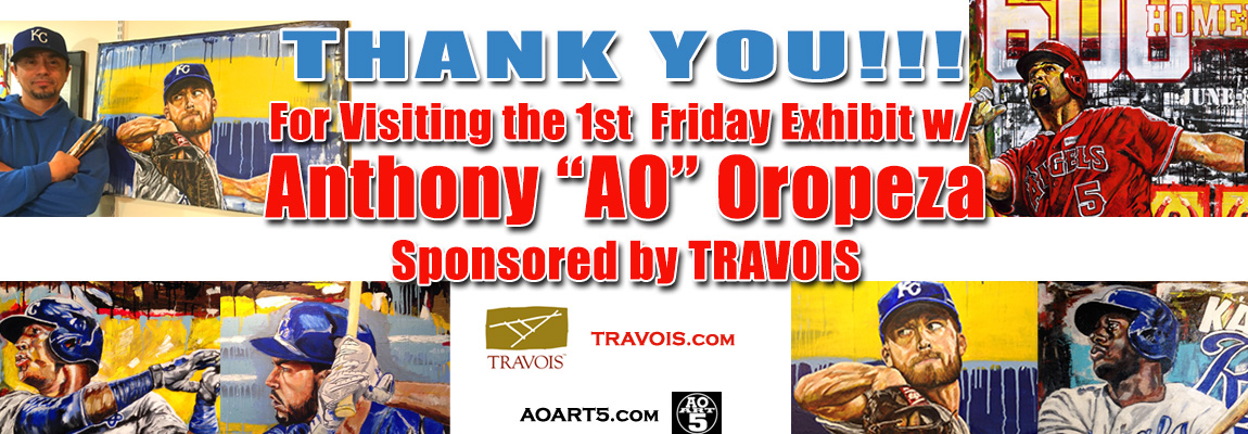 Anthony Oropeza (AO's) Sept 2017 First Friday at Travois