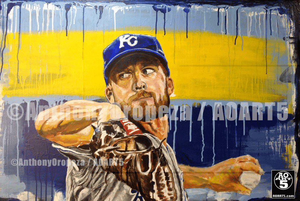 AO's Danny Duffy Painting