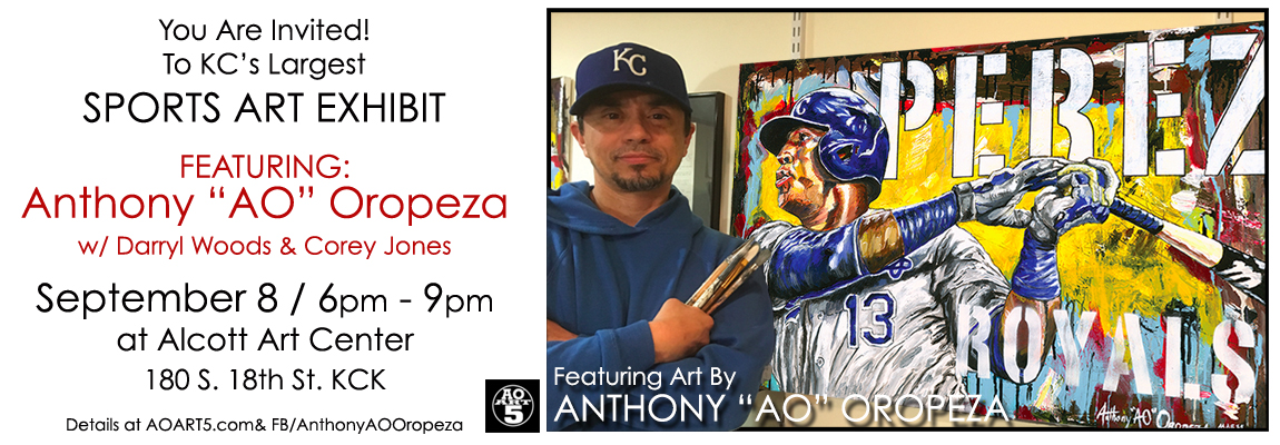 Anthony AO Oropeza 2018 Sept. 8 Alcott Art Show