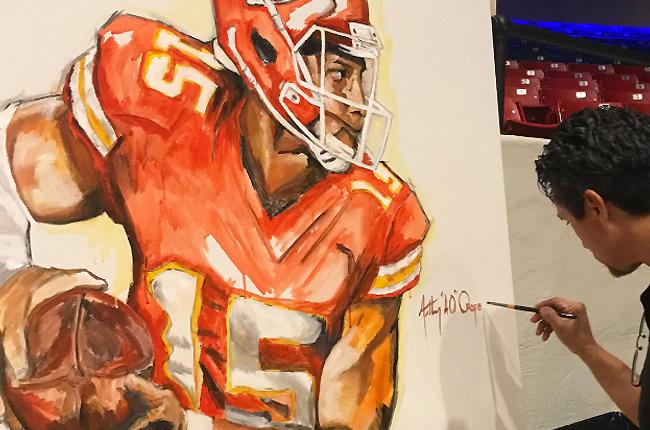 Anthony Oropeza Live Art