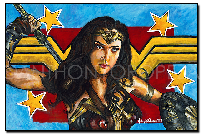2019 Wonder Woman by Anthony Oropeza AO