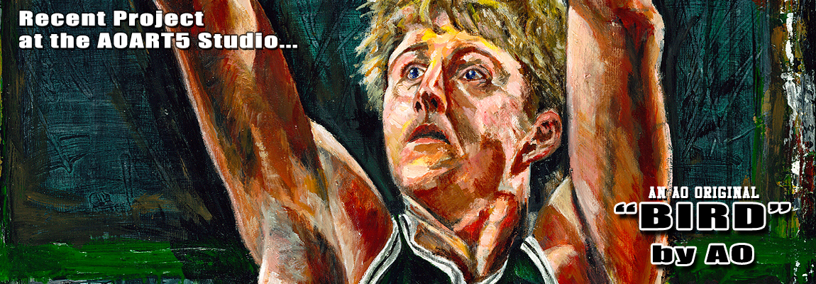 Larry Bird promo art