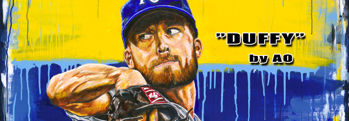 Kansas City Royals: Danny Duffy by AO Oropeza