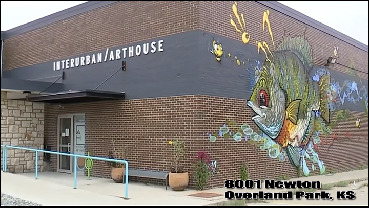 Interurban Arthouse AOART5 studio in Overland Park, KS