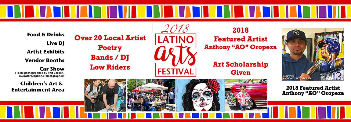 Latino Art Festival - featured Artist Anthony AO Oropeza