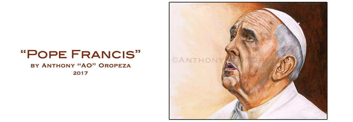 Pope Francis by Anthony Oropeza