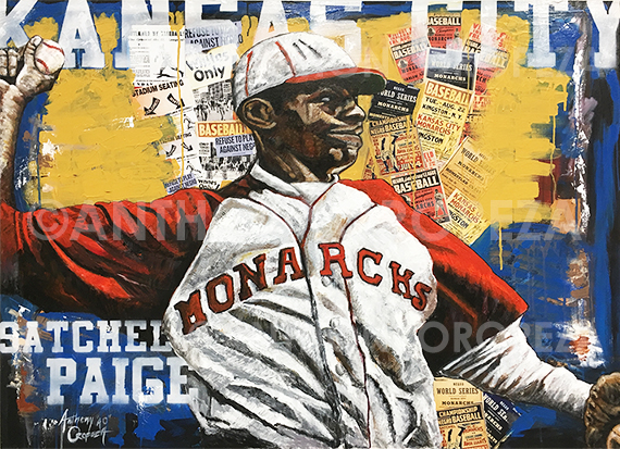 Satchel Paige by Anthony AO Oropeza