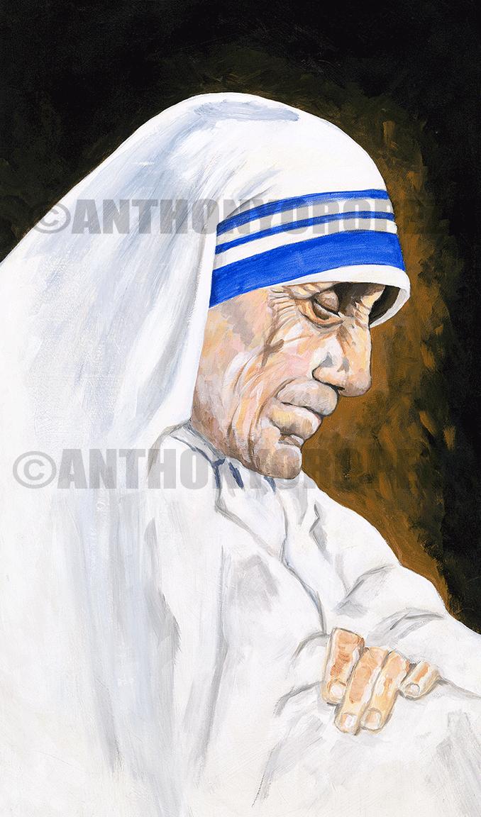 Mother Teresa by Anthony AO Oropeza