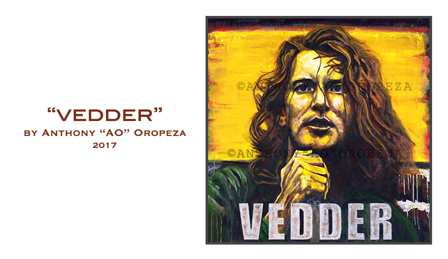 Eddie Vedder by Anthony Oropeza